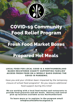 Covid-19 Community Food Relief Program